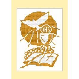 W 4442 Zahlmuster online - Kommunion-Karte - B. Sikora