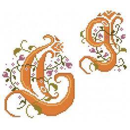 Zahlmuster online - Monogramm G - B. Sikora-Malyjurek