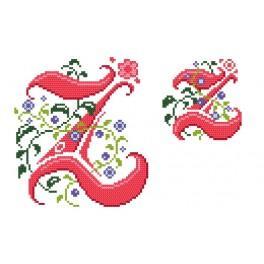 Zahlmuster online - Monogramm Z - B. Sikora-Malyjurek