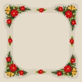 Zahlmuster online - Weihnachtstischdecke - B. Sikora-Malyjurek