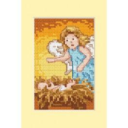 Zählmuster online - Weihnachtskarte