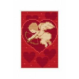 Zahlmuster online - Valentinstag- Amor