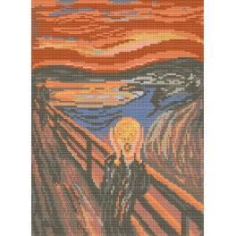 Zahlmuster online - Der Schrei - Edvard Munch