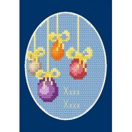 Zahlmuster online - Osternkarte