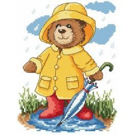 Zahlmuster online - Sommerregen