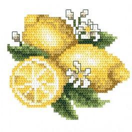 W 4909 Zahlmuster online - Zitrone