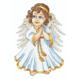 Zahlmuster online - Ein Engel