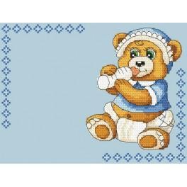 W 4936-02 stickvorlage ONLINE pdf - Geburt eines Kindes - Junge