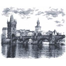 Zahlmuster online - Karlsbrücke