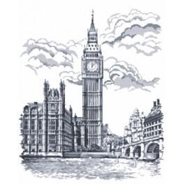 Zahlmuster online - Big Ben