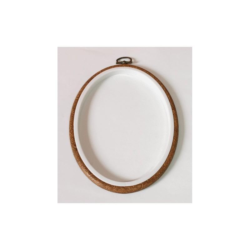 Stickrahmen Oval 10 x 13,5 cm - Coricamo