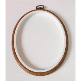 915-53 Stickrahmen Oval 13 x 17,5 cm