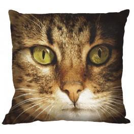 Zahlmuster online - Kissen - Katze Lucky
