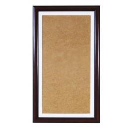 Ramk drewniana - kolor orzech - białe psp