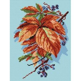 Herbstlaub - Zählmuster