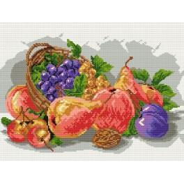 Herbstfrüchte - Zählmuster