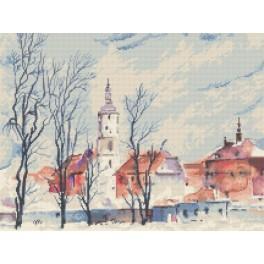 Stadtpanorama - K. Starowicz - Zählmuster
