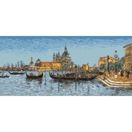 E. Boudin - Venedig - Zählmuster