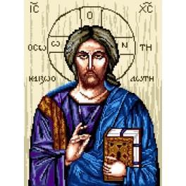Icon - Jesus - Zählmuster