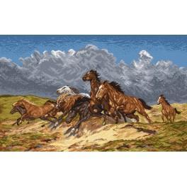 Mustangs - Zählmuster