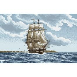 Schiffsfahrt - Zählmuster