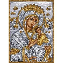 Mutter Gottes mit Kind - Zählmuster