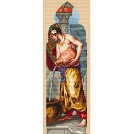 W. Crane - Triptychon – Asien - Zählmuster
