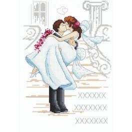 Hochzeitsandenken - Zählmuster