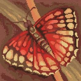 Ein Schmetterling - Gobelin