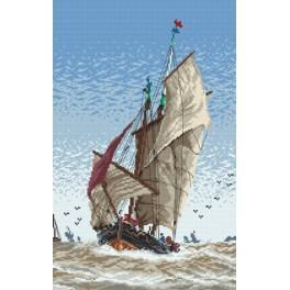 Auf dem See - Aida mit Aufdruck