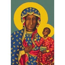 Schwarze Madonna von Tschenstochau - Aida mit Aufdruck