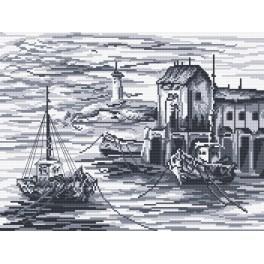 Fischkutter - Aida mit Aufdruck