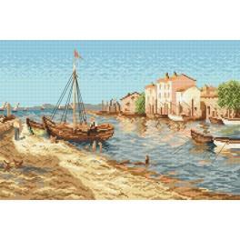 Fischerstädtchen - Aida mit Aufdruck