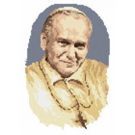 Papst Johannes Paul II - Aida mit Aufdruck