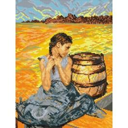 Der vergiftete Brunnen - Aida mit Aufdruck