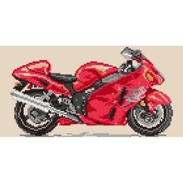 Motorräder – ein feuriges Tornado - Aida mit Aufdruck