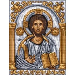Ikone– Christus Pantokrator - Aida mit Aufdruck