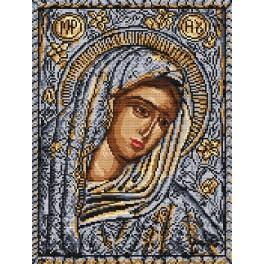 Gottes Mutter – Ikone - Aida mit Aufdruck