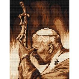 Johannes Paul II - Aida mit Aufdruck