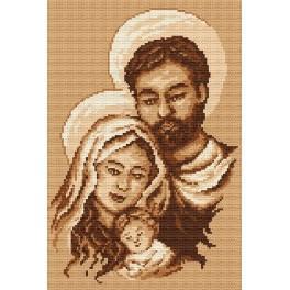 Die Heilige Familie - Aida mit Aufdruck