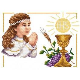 B.Sikora - Erstkommunion – Mädchen - Aida mit Aufdruck
