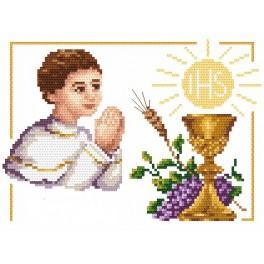 Erstkommunion – Junge - Aida mit Aufdruck