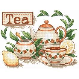 Der Tee - Aida mit Aufdruck