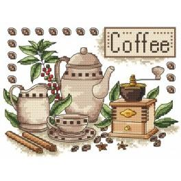 Kaffee - Aida mit Aufdruck