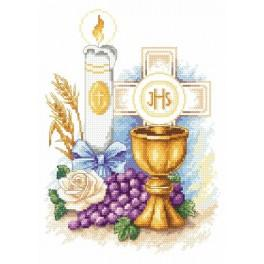 Erinnerung an die Erstkommunion - Aida mit Aufdruck