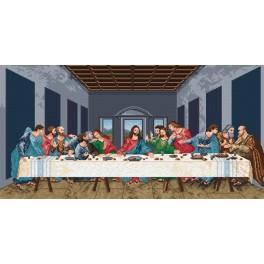 L. da Vinci - Das letzte Abendmahl - Aida mit Aufdruck