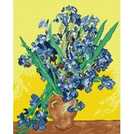 V. van Gogh - Iris - Aida mit Aufdruck