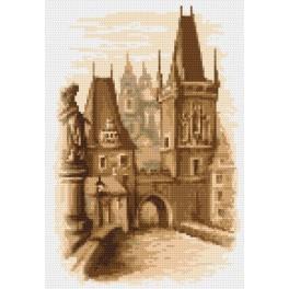 Karlsbrücke-Prag - Aida mit Aufdruck