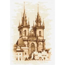 Kirche der Mutter Gottes – Prag - Aida mit Aufdruck