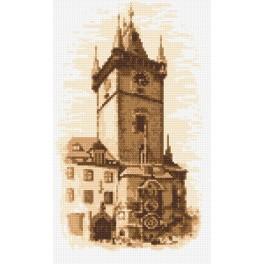 Prager Rathaus - Aida mit Aufdruck